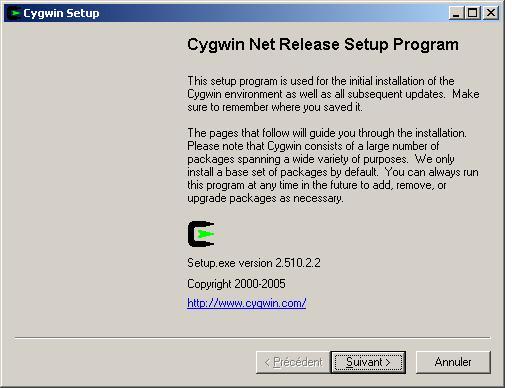 cygwin pour windows 7 gratuit